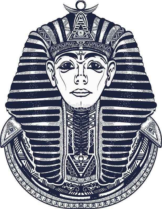 b1dd2e46e Egyptian Pharaoh | Sticker | Ink | Pharaoh tattoo, Egypt tattoo ...