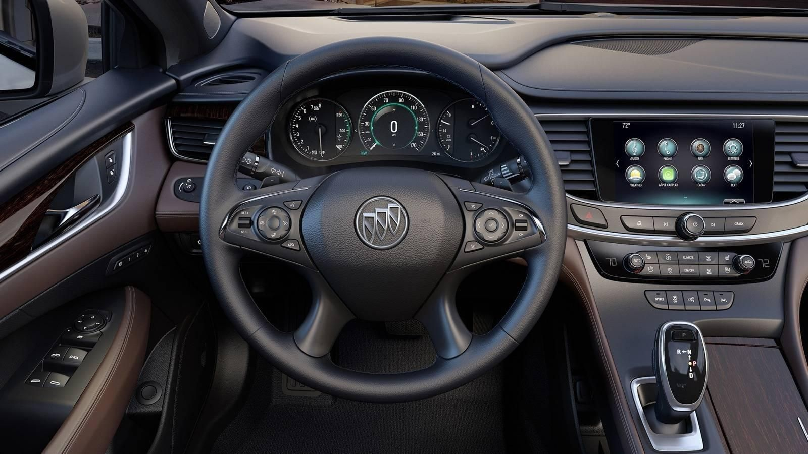 2017 Buick Lacrosse Review & Ratings Edmunds with regard