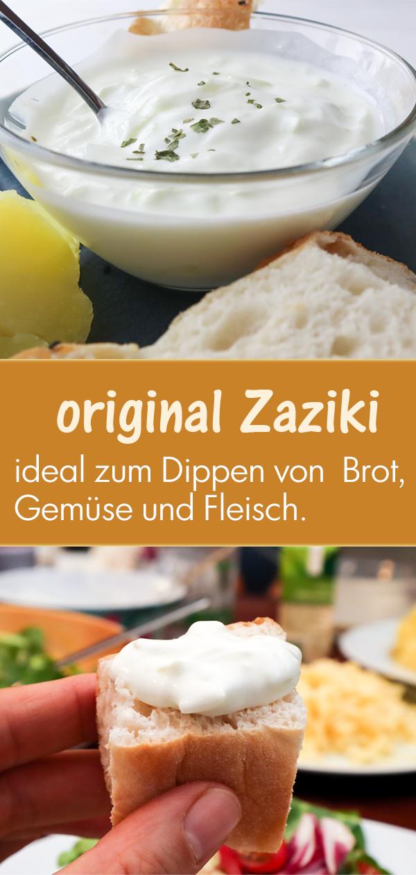 Original griechischer Zaziki: cremig und erfrischend #sourcream