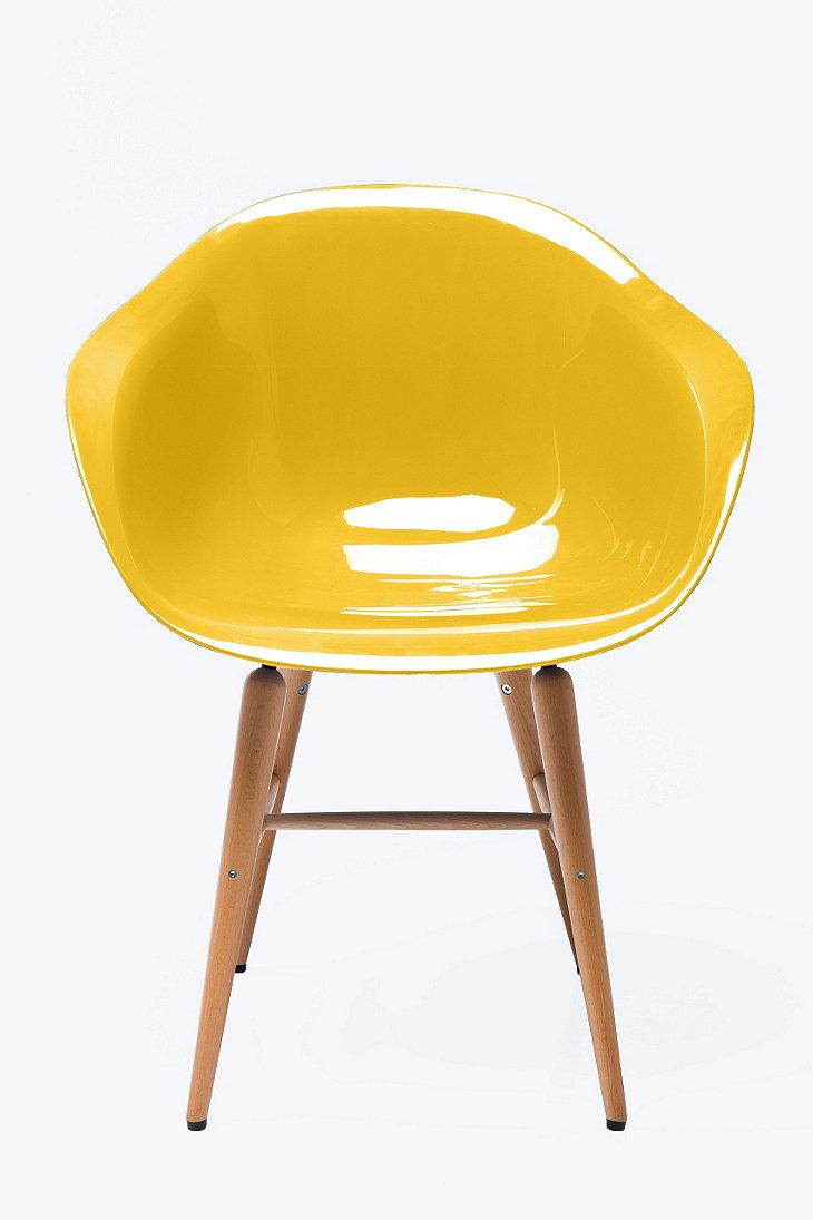 Urban Accoudoirs Moutarde Outfitters Avec Chaise Kare dBEQrxCeoW