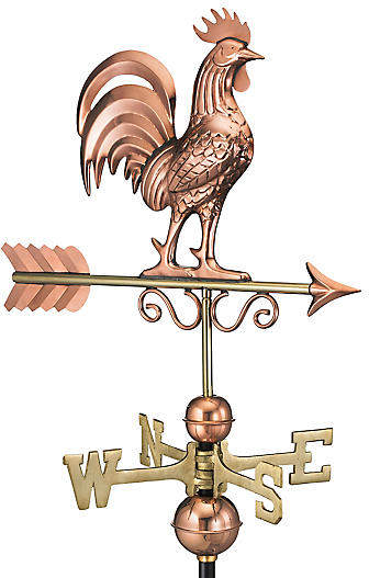 This Weathervane Would Be Pretty On Our Garage Roof They Have Many Different Animals To Choose From Details Make A Ho Weather Vanes Rooster Copper Roof House