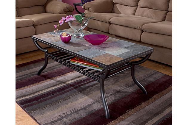 Black Antigo Coffee Table View 1 Home Decor Slate Coffee Table
