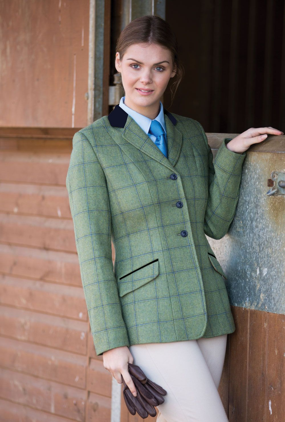 ca6a6a2d11cb9 EQUETECH LADIES CALVERT DELUXE TWEED RIDING JACKET | Women wearing ...