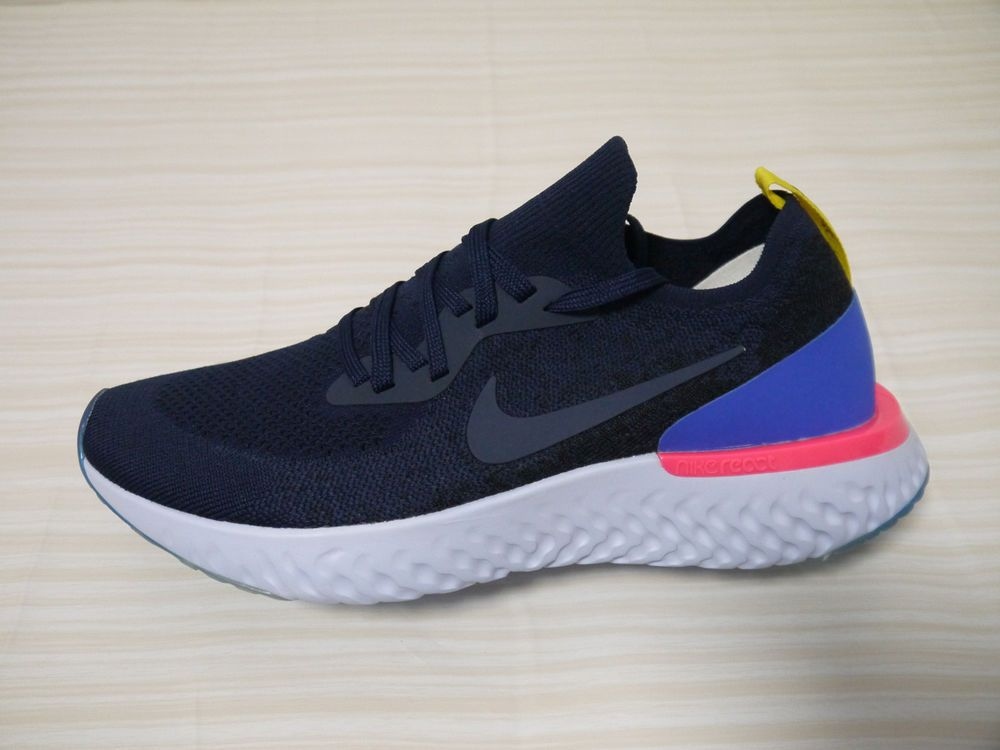 19c9ac6527800 Brand New Size 10 Men s Nike Epic React Flyknit College Navy - AQ0070-400   fashion  clothing  shoes  accessories  mensshoes  athleticshoes (ebay link)