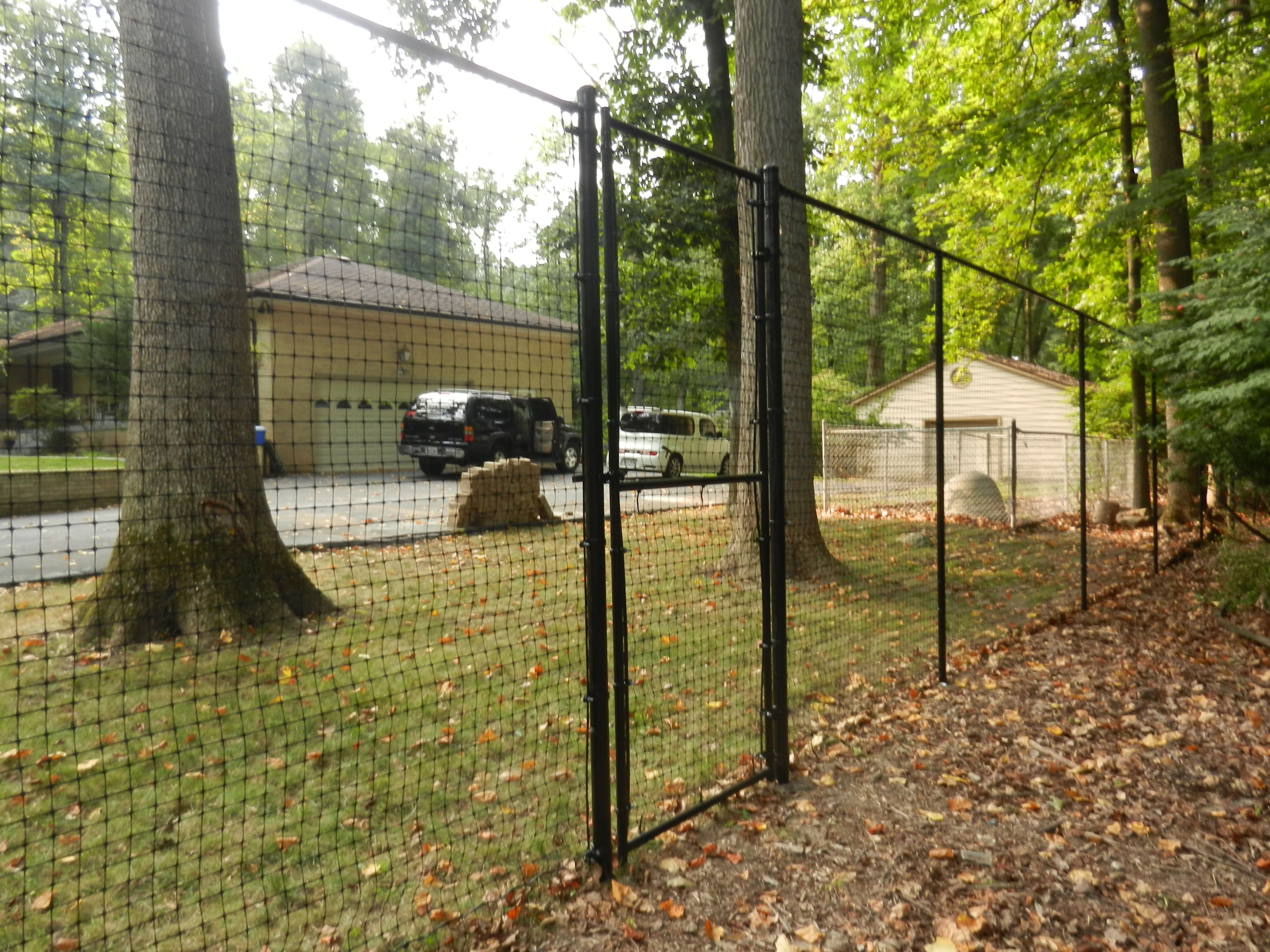 8 Foot Deer Fence With Top Rail Deer Fence Dog Proof Fence