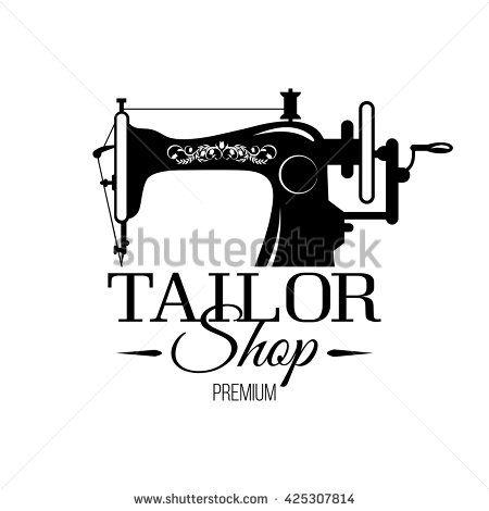 Tailor shop banner or tailor workshop banner.Vector