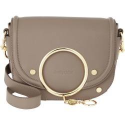 See By Chloé Mara Shoulder Bag Leather Motty Grey in grau Umhängetasche für Damen Chloé