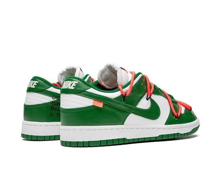 Hundimiento Momento Aptitud  Refurbished Nike SB Dunk Low Pro Sneakers `OFF WHITE` Low Pine Green | THE  CUSTOM MOVEMENT in 2020 | Nike sb dunks, Nike sb, Nike models