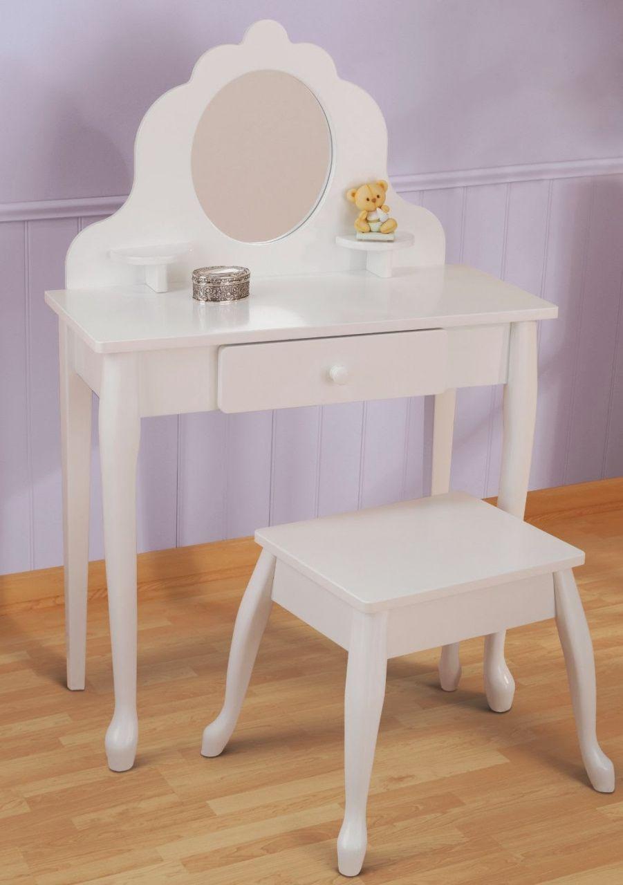 Merveilleux Little Girls Vanity Table   Contemporary Home Office Furniture Check More  At Http://