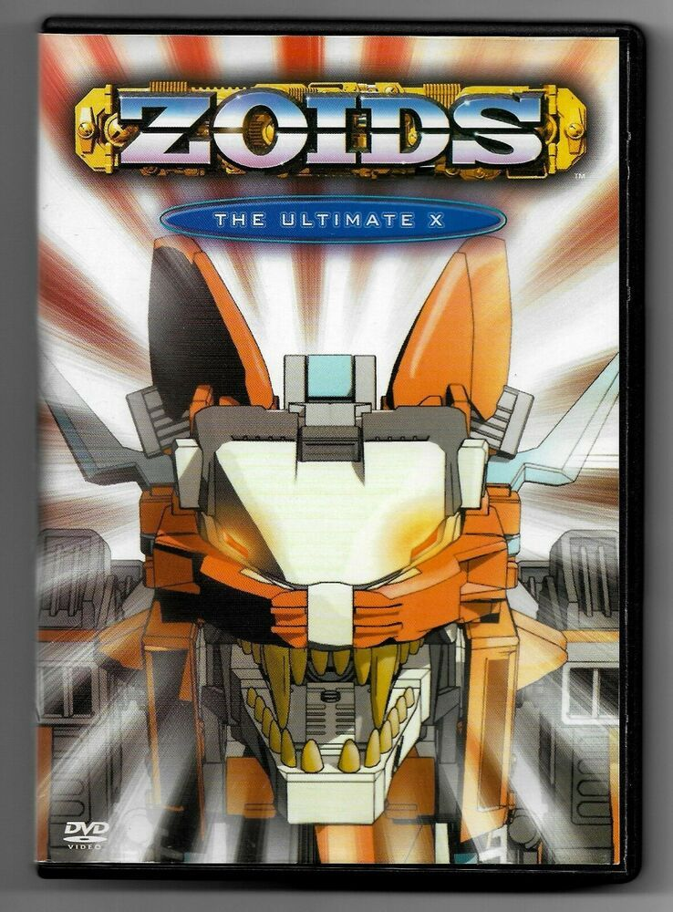 Details about Zoids Vol. 6 The Ultimate X (DVD, 2003