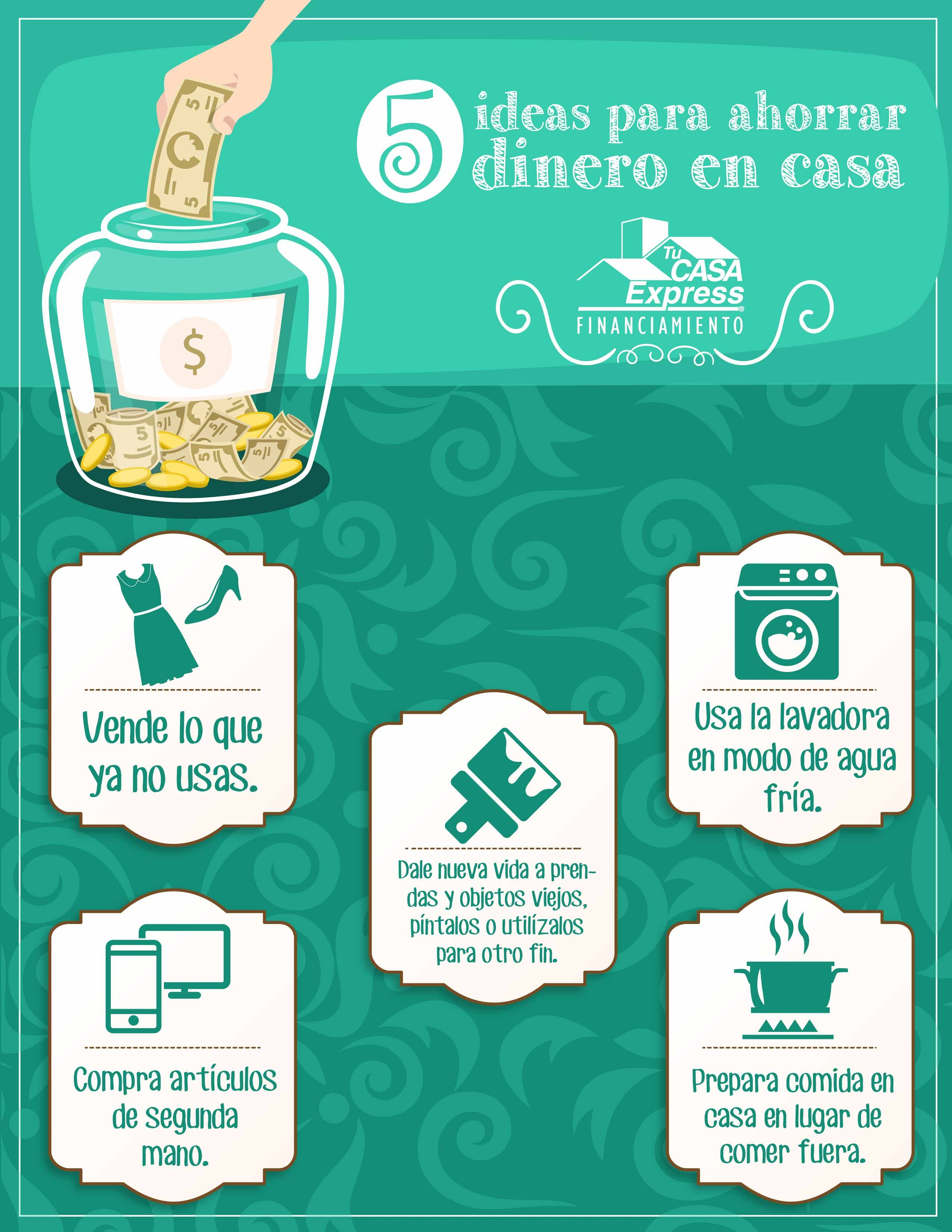 5 ideas para ahorrar dinero en casa tu casa express - Consejos para ahorrar dinero ...