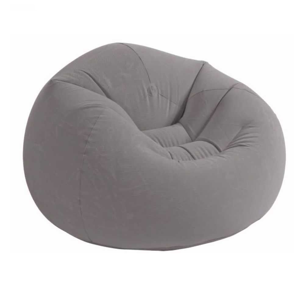 Grey Fabric BEAN BAG By Abbaji Interiors
