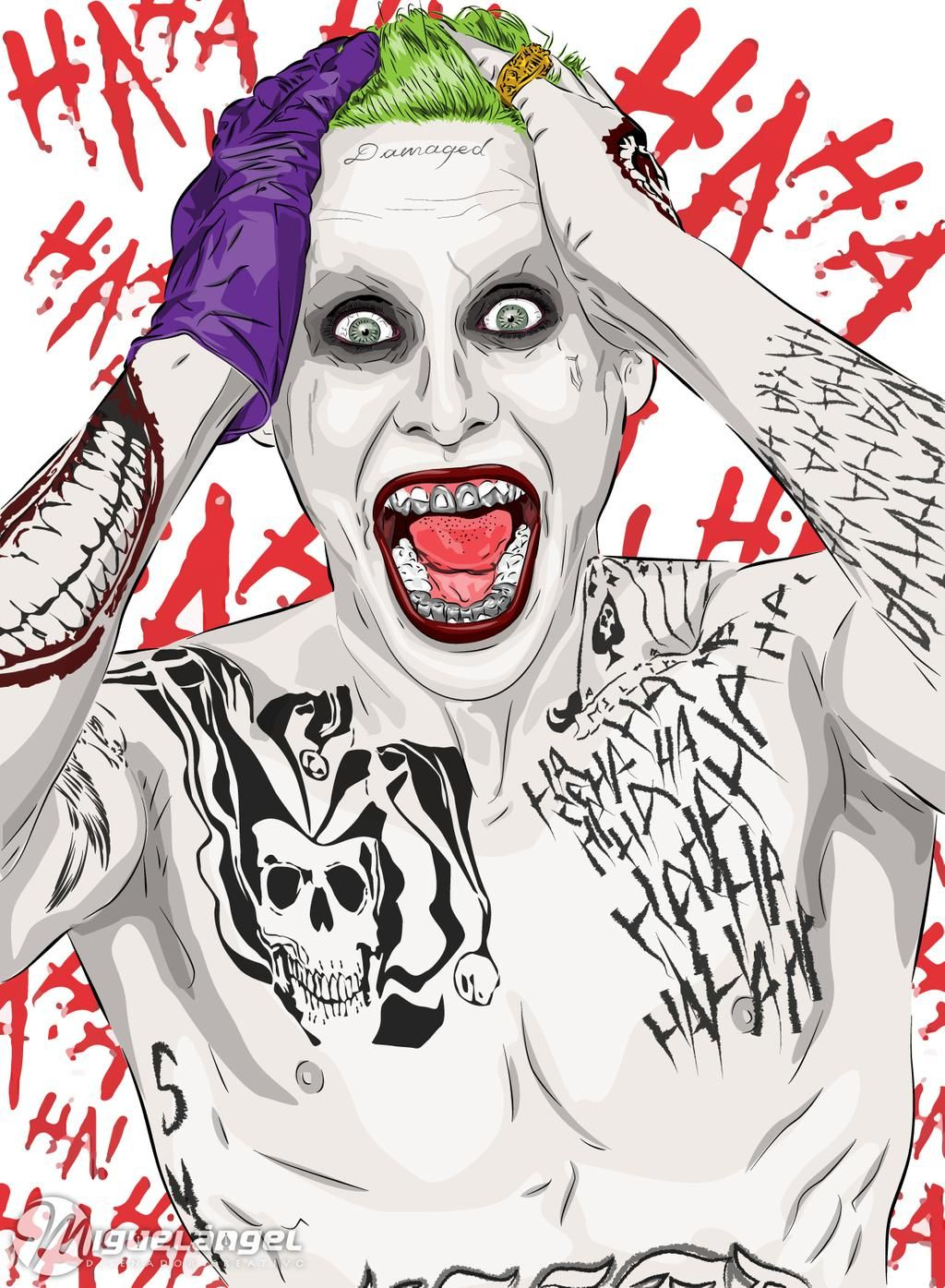 The Joker By Mac Ve On Deviantart Joker Artwork Joker Art Joker Drawings Graffiti joker joker haha wallpaper
