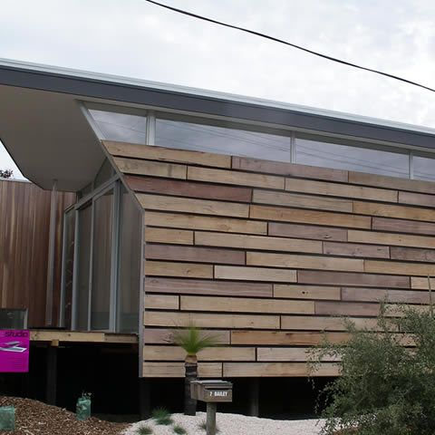 Recycled wood cladding barns garages cabins for External wood cladding