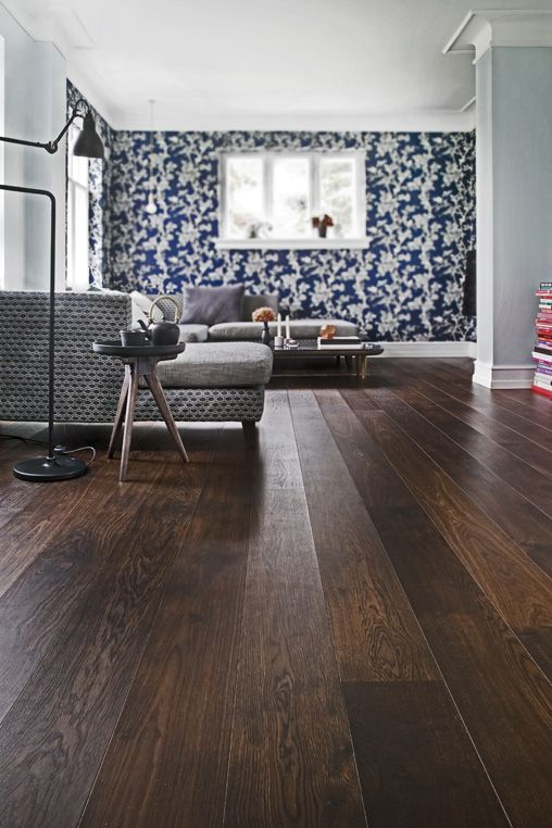 Junckers Black Oak Boulevard Our Widest Plank Floor With 185 Mm