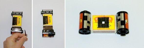 Cosntruye tu propia cámara. DIY Cameras