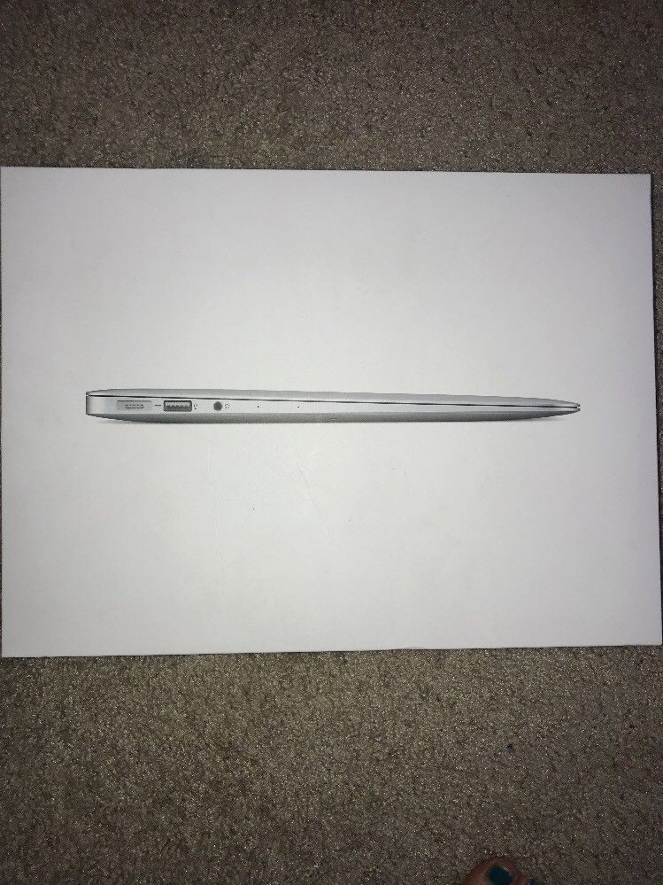 Apple Macbook Air 13 Retail Box Empty Box Only Apple Macbook Air Apple Macbook Macbook Air 13