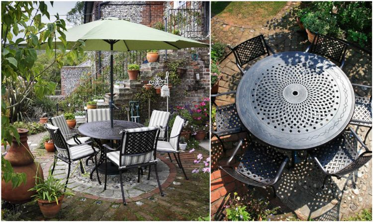 Salon de jardin en aluminium pour rendre l\'extérieur plus ...