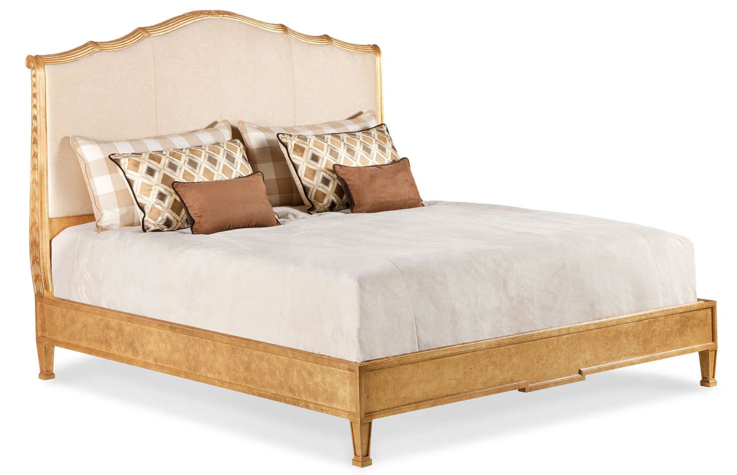 Abbey Platform Upholstered Bed King This Version Of The Abbey