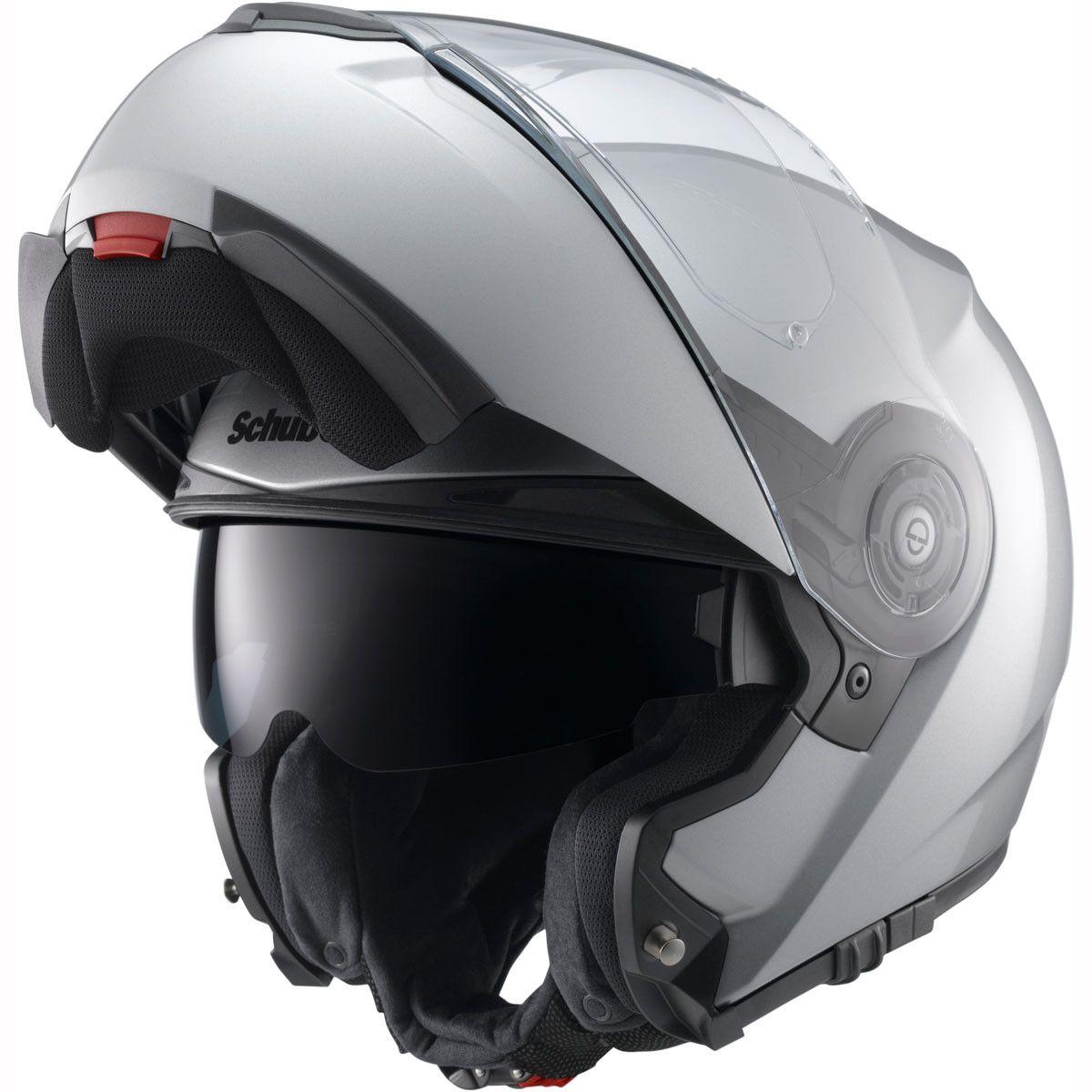 Schuberth C3 Pro Helmet in Silver The Schuberth C3 Pro