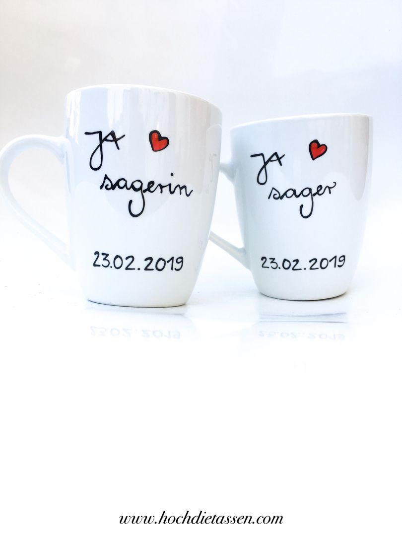 Geschenk Zur Hochzeit Hochzeit Tassen Geschenk Hochzeit Hochzeitsgeschenk