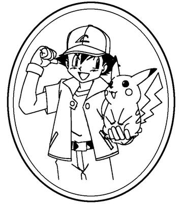 pokemon coloring pages - Coloring Pages Pokemon Pikachu