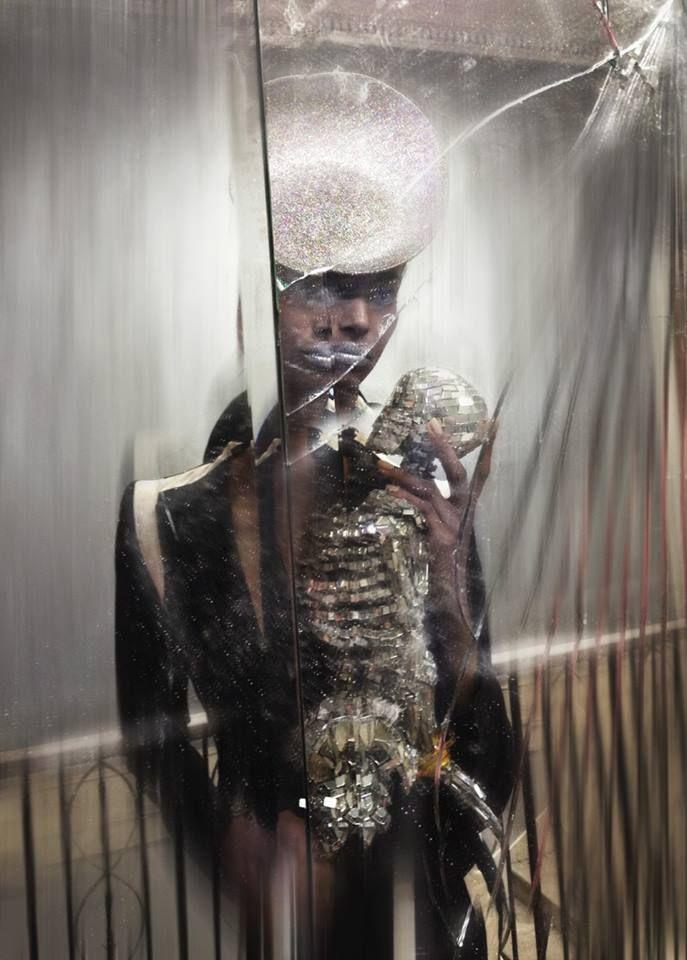 Nick Knight - Isabella Blow Fashion Galore! Catalogue - Alexander McQueen S/S 2004 & Philip Treacy Hat 2004