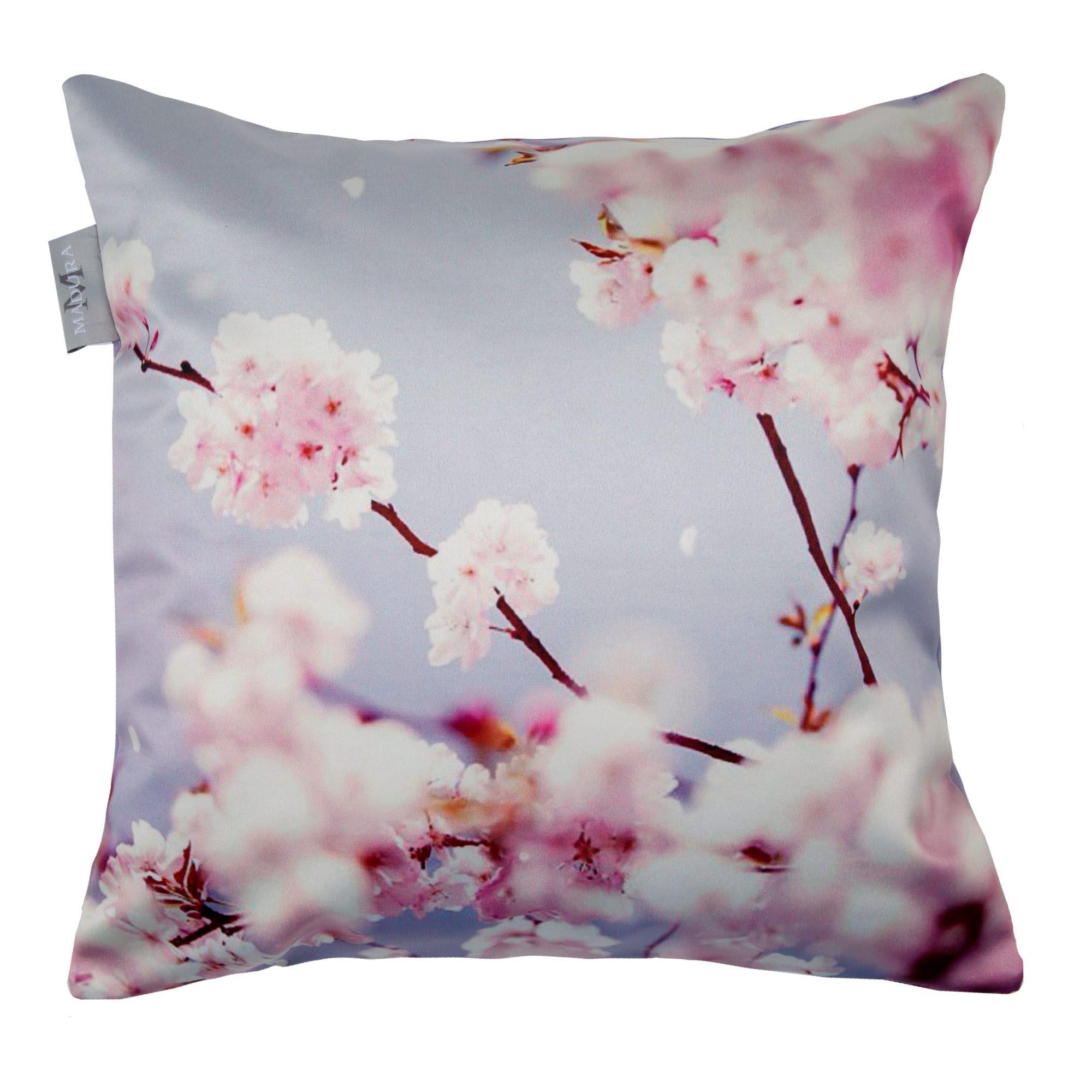 coussin cherry Enveloppe de coussin Cherry blossom violet | Decoration coussin cherry