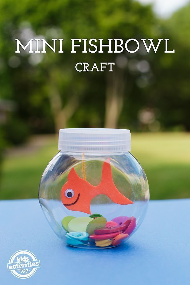 Photo of Mini Fishbowl Craft for Kids