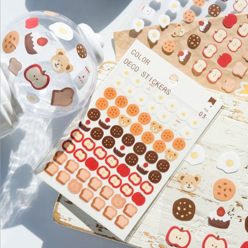 3 sheets, Planner Sticker, Scrapbook Sticker, journal, cute sticker, Sticker set