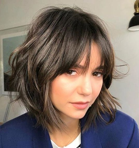 Layered Bob With Bangs. Growing Out A Pixie Cut.