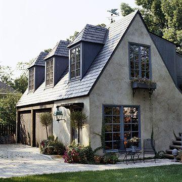 Great Garage Doors Cottage House Exterior Cottage Exterior Cottage House Plans