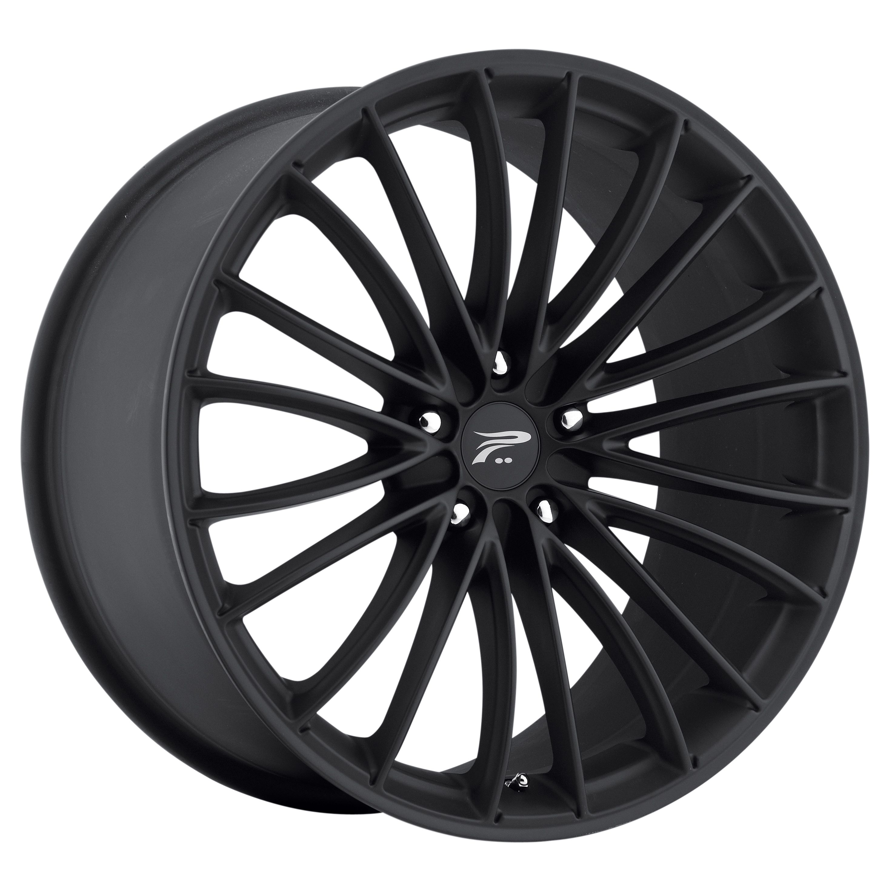 Platinum Wheels 417 Monarch Matte Black