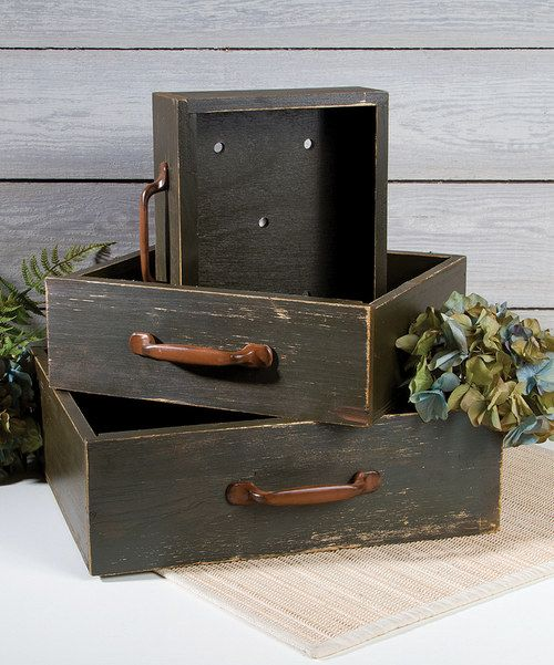Look at this Flower Box Drawer Set on #zulily today!