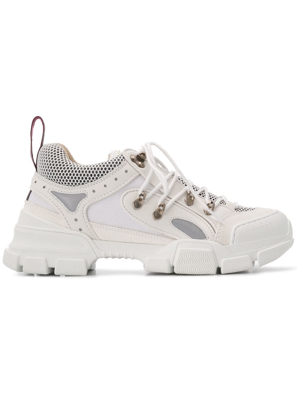 GUCCI GUCCI FLASHTREK SNEAKERS - WHITE.  gucci  shoes  1441beaafe7
