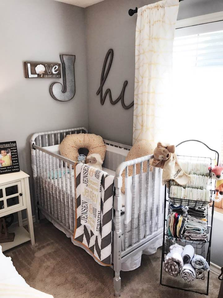 Farmhouse Styled Nursery Guest Room Combo Inspiration