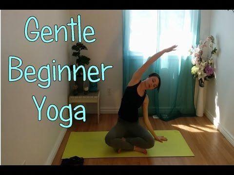 gentle hatha beginner yoga class  youtube  looks like a