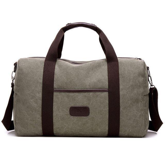 2017 New Vintage Men Canvas handbag High Quality Travel Bags Large Capacity Women  Luggage Travel Duffle Bags Folding Bag bolsas 8e7e42f5d