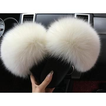 Photo of MAJESTY Fur Slides