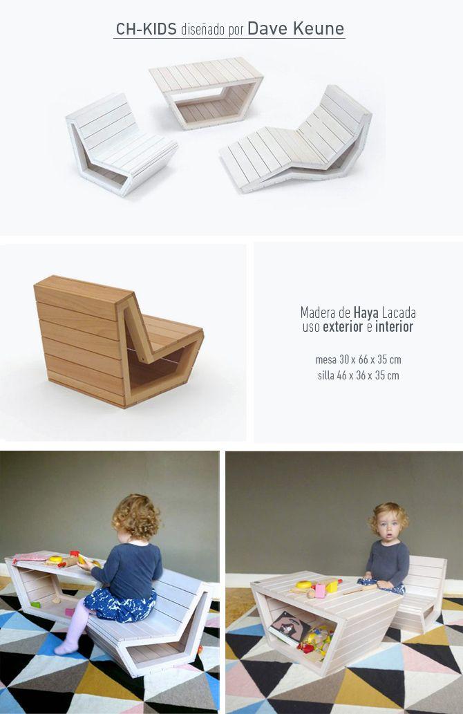 Escritorios infantiles, los mejores diseños. Kid´s Desk, best designs. CH-Kids