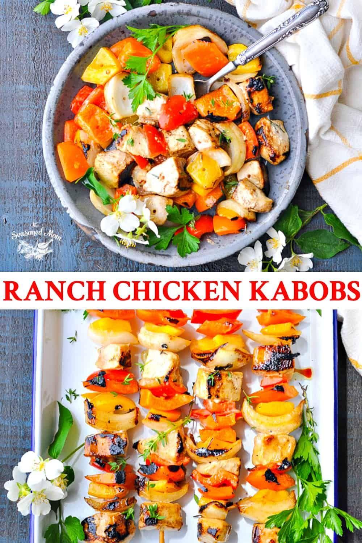 Maria's Ranch Chicken Kabobs