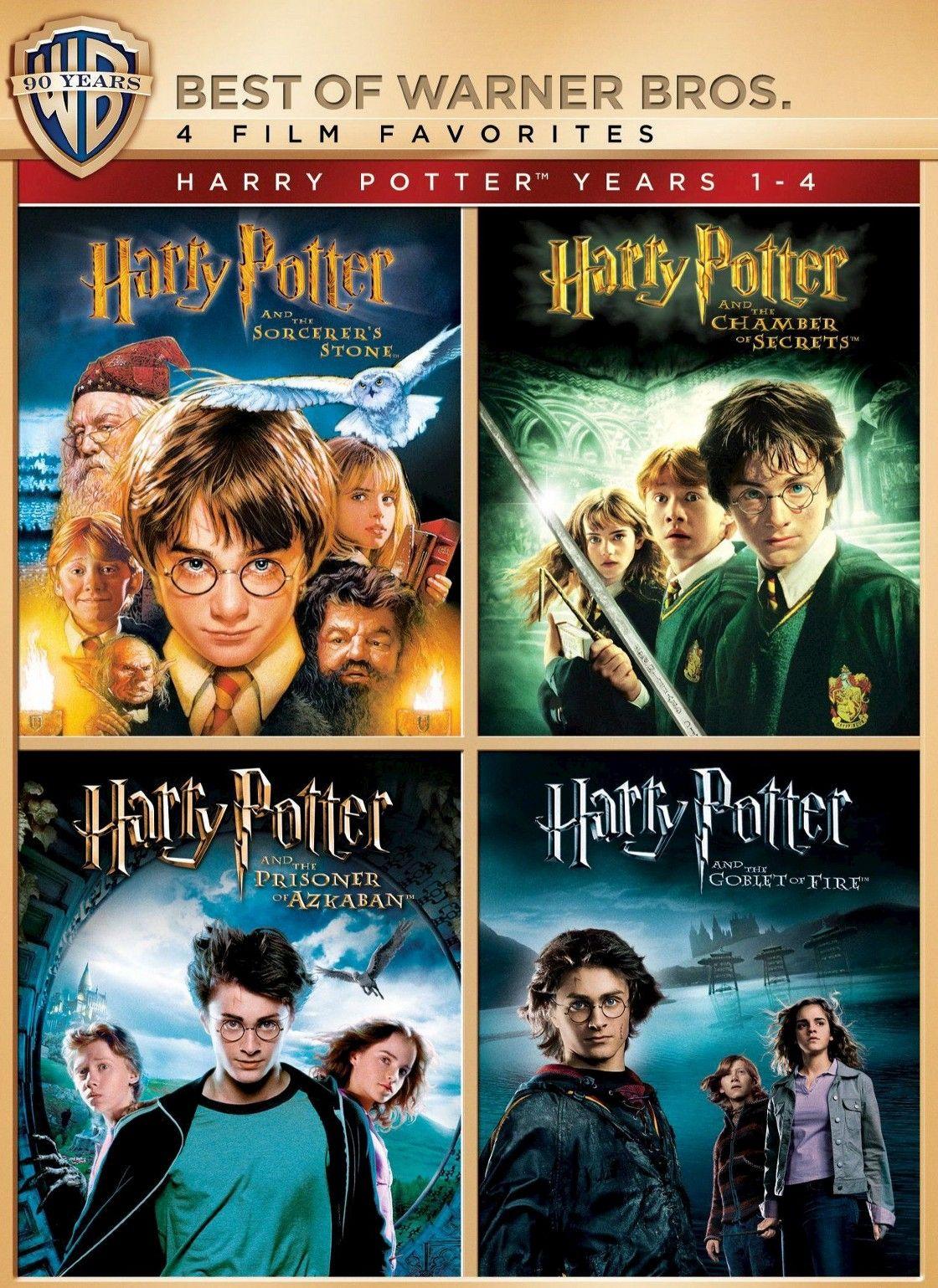Harry Potter Years 1 4 4 Film Favorites 4 Discs Harry Potter Years Harry Potter Harry Potter Ron