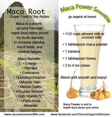 Maca sex does drive increase