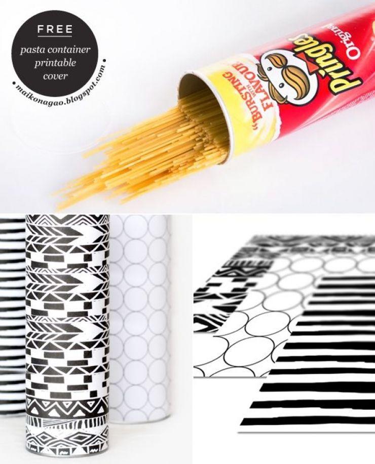 15 Trucs et astuces à faire avec vos boîtes de Pringles vides Ne - truc et astuce bricolage maison
