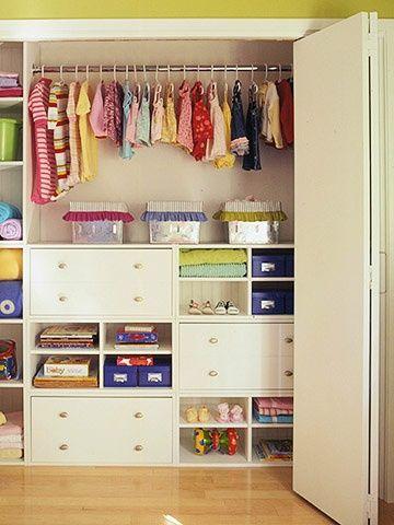 Placard | Chambre de bébé | Dressing enfant, Chambre enfant et ...