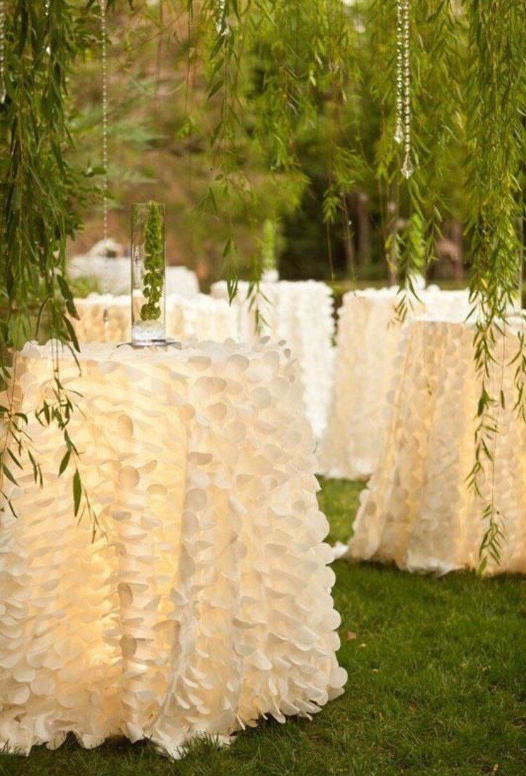 Wedding tablecloth Table cloth Wedding decor Baby shower   Etsy