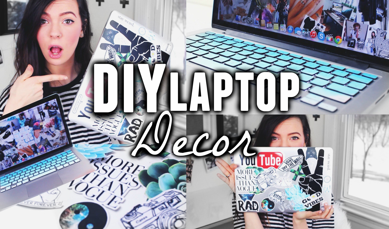 Diy Laptop Decor Tumblr Pinterest Inspired Stickers Decoration
