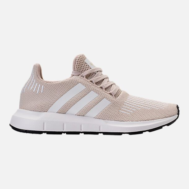 d60b405e571d Right view of Women s adidas Swift Run Casual Shoes in Clear Brown White