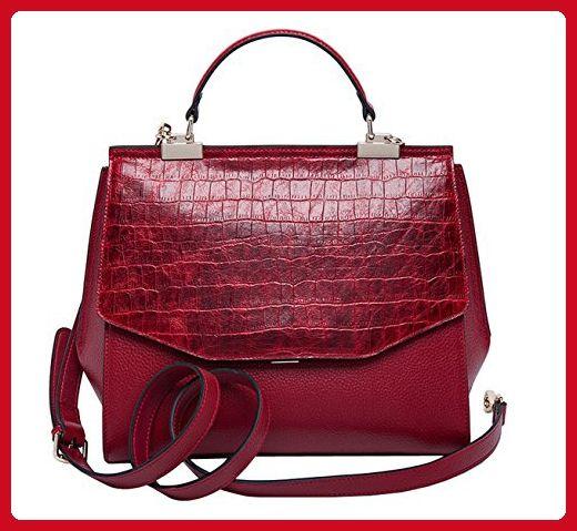 b041061708 SAIERLONG Ladies Designer Womens Red wine Cowhide Genuine Leather Handbags  Shoulder Bags - Shoulder bags ( Amazon Partner-Link)