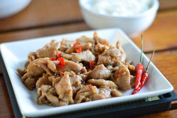 Spicy garlic chicken recipe garlic chicken garlic and thai style spicy garlic chicken food chicken recipesthai forumfinder Images